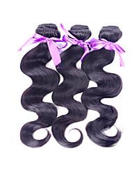 """1pcs / lot 8 """"-30"""" cabelo humano brasileiro que tece boa qualidade"""