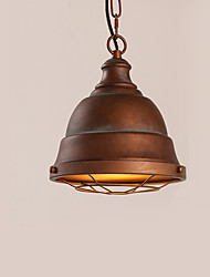 cheap -Vintage Industrial Edison Simplicity Loft Pendant Lights Metal Dining Room Kitchen Bar Cafe Hallway Balcony Light Fixture