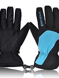 cheap -Ski Gloves Men's Women's Full-finger Gloves Keep Warm Waterproof Quick Dry Windproof Snowproof Anti-skidding PU Ski / Snowboard Winter