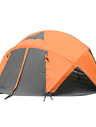 MOBI GARDEN 5-8 persons Tent Triple Camping Tent One Room Fold Tent Keep Warm Waterproof Portable Windproof Ultraviolet Resistant