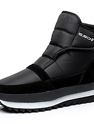 Z.SUO Men's Skiiing Snow sports Downhill Boots Winter Anti-Slip Anti-Shake/Damping Cushioning Height Increasing Shoes Black