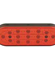 Car Auto 15-LED Brake Lamp Stop Parking Emergency Safety Warning Light-Red Light(1PCS)