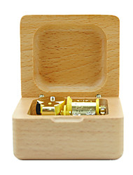 cheap -Music Box Toys Leisure Hobby Novelty Sound Wood Boys´ Girls´