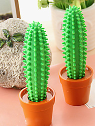 cheap -Special Design Green Cactus Shaped Ballpoint Pen For School / Office