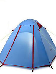 Недорогие -Naturehike 2 человека Туристические палатки На открытом воздухе Водонепроницаемость Дожденепроницаемый Хорошая вентиляция Двухслойные зонты Палатка для Рыбалка Пляж  Походы Фиберглас