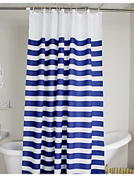 Neoclassical Polyester High Quality Shower Curtains 72x72inch(180x180cm)