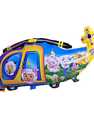 Bolas Balões Helicóptero Brinquedos Helicóptero Inovador Para Meninos Para Meninas 1 Peças