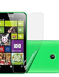 (6 pezzi) ad alta definizione protezione dello schermo per Nokia Lumia 630/635
