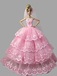 Princesse Robes Pour Poupée Barbie Robes Pour Fille de Jouets DIY