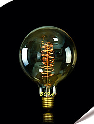 cheap -1pc 25W E27 E26/E27 E26 G125 Warm White 2300 K Incandescent Vintage Edison Light Bulb 220V 85-265V