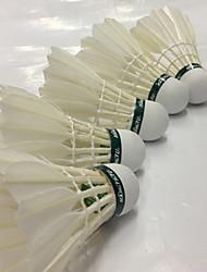 economico -1 pezzo Badminton Volani di piume volani Basso spostamento d'aria Alta resistenza Elevata elasticità Duraturo per Piume d'oca