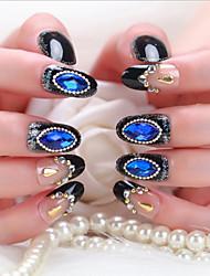 24 Pcs Bride Nail False False Nails Finished Manicure Nails Products
