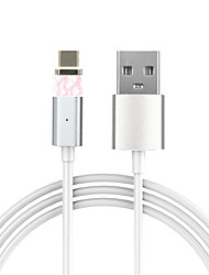 cheap -Cwxuan® Detachable Magnetic Adhesion Data Sync Charging Cable for USB 3.1 Type-C Phone