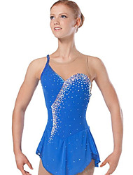 Women's Figure Skating Dress Ice Skating Dress Sleeveless Dress Anatomic Design Ice Skating Snowsports Downhill Figure Skating Outdoor