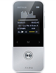 abordables -Aigo MP3 MP3 / WMA / WAV / FLAC / APE Batterie Li-ion rechargeable