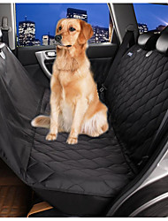cheap -Dog Car Seat Cover Pet Mats & Pads Waterproof Foldable Black For Pets