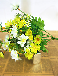 cheap -Artificial Flowers 1 Branch Pastoral Style Daisies Tabletop Flower