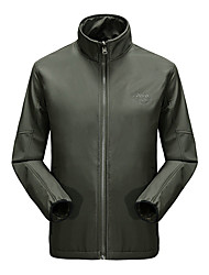 Hiking Softshell Jacket Men's Waterproof / Breathable / Quick Dry / Ultraviolet Resistant / Protective
