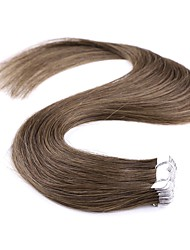 cheap -Tape In Human Hair Extensions Human Hair Straight 20Pcs/Pack 20 inch