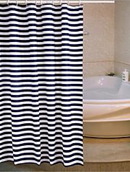 Недорогие -Неоклассицизм Полиэфир 180 * 180  -  Высокое качество Шторка для ванной