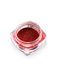 1 bottle Laser Glitter Mermaid Effect Nail Powder Dust Magic Glimmer Nail Art Decoration Tips Beauty DIY Pigment M01-06