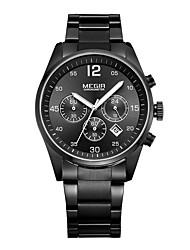 MEGIR Men's Sport Watch Military Watch Dress Watch Fashion Watch Wrist watch Calendar Quartz Digital Alloy BandVintage Charm Casual