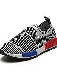 Chlapecké Atletické boty Pohodlné hrbit boty Jaro Podzim Zima PU Chůze Ležérní Nízký podpatek Černá Červená Modrá 2.5 - 4.5 cm
