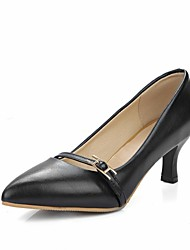cheap -Women's Heels Spring Summer Fall Winter Comfort Novelty Slingback Synthetic Patent Leather Leatherette PUWedding Office & Career Dress