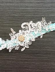Lace Wedding Garter with Rhinestone Lace Wedding AccessoriesClassic Elegant Style
