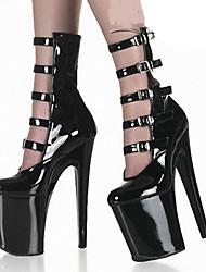 economico -Per donna Scarpe PU (Poliuretano) Estate Autunno Comoda Innovativo Club Shoes Stivali Stivaletti Footing A stiletto Punta tonda Fibbia per