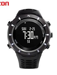 esportes homens relógios h001c01 Ezon relógio digital multifunções ao ar livre relógios de pulso escalada altímetro barômetro bússola