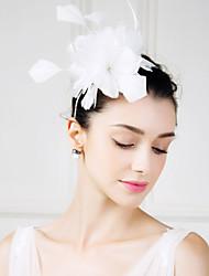abordables -plumas fascinators flores tocados estilo femenino clásico