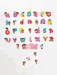 baratos -Autocolantes de Parede Decorativos - Etiquetas de parede de palavras e citações Animais / Moda / Palavras e Citações Sala de Estar /