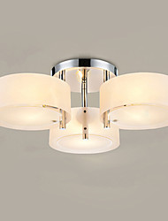 cheap -Ecolight™ Flush Mount Modern/Contemporary 3 Lights Ceiling Light/Kids Room/Entry/ Hallway/ Metal