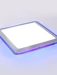 Недорогие -Ecolight™ Монтаж заподлицо Рассеянное освещение Электропокрытие Металл Акрил LED 90-240 Вольт Теплый белый / Белый Светодиодный источник света в комплекте / Интегрированный светодиод
