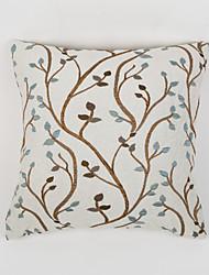 cheap -1 pcs Chenille Pillow Case,Floral Country