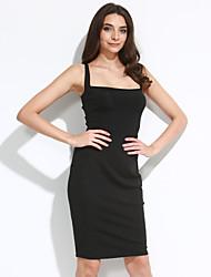 Women's Corset-Style Back Lace Up Dress