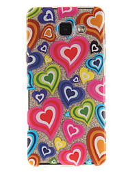 cheap -For Samsung Galaxy A5 A5(2016) A3 A3(2016) Case Cover Love Pattern IMD Process Painted TPU Material Phone Case