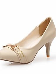abordables -Femme-Mariage Bureau & Travail Habillé Soirée & Evénement-Violet Amande-Talon Aiguille-Confort Nouveauté A Bride Arrière-Chaussures à