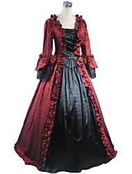 Un Pezzo/Vestiti Gotico Lolita Classica e Tradizionale Ispirazione Vintage Elegant Vittoriano Rococò Da principessa Cosplay Vestiti Lolita