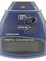 cheap -Professional Digital Laser Photo Non-Contact Tachometer RPM Tach Gauge (2.5~999.9RPM, 0.1RPM/1RPM)