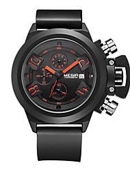 Недорогие -MEGIR Муж. Спортивные часы Армейские часы Нарядные часы Модные часы Наручные часы Кварцевый Цифровой Календарь Секундомер Защита от влаги