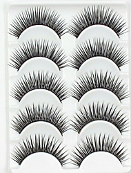 cheap -Eyelashes lash Full Strip Lashes Eyelash Crisscross Natural Long Lengthens the End of the Eye The End Is LongerExtended Lifted lashes