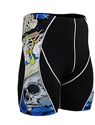 Homens Shorts de Corrida Secagem Rápida Respirável Redutor de Suor Shorts Calças para Exercício e Atividade Física Corrida Elastano