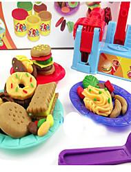 Недорогие -Играть в тесто, пластилин и шпатлевка Игрушки Игрушки Своими руками Оригинальные пластик Девочки Мальчики Куски