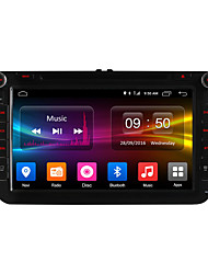 baratos -8 Polegadas 2 Din 1024 x 600 Android6.0 DVD Player Automotivo para Seat Skoda Volkswagen DAB - MPEG4 CD MP3 JPEG MP4 DVD JPG GIF PNG