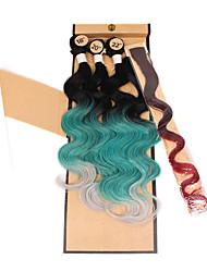 Tranças Jumbo Tranças de Cabelo Outros Cabelo 100% Kanekalon Cinza Rosa Azul Verde Cabelo para Trançar Extensões de cabelo