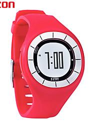 EZON Fashion Rubber Clock Women Colorful Watch Sports Running Watches Speed Pedometer Calories Counter Digital Wristwatch