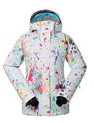 Sports Ski Wear Ski/Snowboard Jackets Women's Winter Wear Polyester Winter ClothingWaterproof Thermal / Warm Quick Dry Windproof Fleece