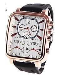 Мужской Спортивные часы Армейские часы Нарядные часы Модные часы Наручные часы Кварцевый Цифровой Натуральная кожа ГруппаВинтаж С
